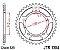 JT SPROCKETS COROA HONDA CB600 (98-13) CB650F (14-18) CB 650R/ CBR 650R JTR1304- 42/525 - Imagem 2