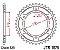 JT SPROCKETS COROA YAMAHA TRACER DE 2015 A 2020 JTR1876 - 45/525 - Imagem 2
