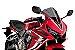 BOLHA PUIG HONDA CBR650R 2020/2021 RACING FUME ESCURO 3568F - Imagem 2