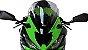 BOLHA MRA KAWASAKI ZX6R 2020/2021 RACING FUME CLARO - Imagem 2
