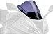 BOLHA PUIG RACING KAWASAKI ZX6R 2012 A 2017 FUME ESCURO 6482F - Imagem 2