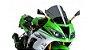 BOLHA PUIG KAWASAKI ZX 6R ZX 636 2012 A 2017 RACING FUME ESCURO 6482F - Imagem 1