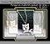 """Corrente + Pingente """"Gatinho Selvagem"""" - banhado ouro branco 18k - Imagem 1"""