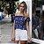 Blusa ombro a ombro Estrelas - Imagem 1