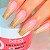 Gel Construtor Autonivelante Pink Natural HARD Beltrat 24g Manicure Alongamento Unhas - 3 Unidades - Imagem 2