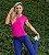 Blusa Mullet Tiras Shine Pink - Imagem 1