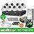 Kit Intelbras Completo Monitoramento Interno Ideal com  8 Câmeras Dome em Alta Definição HD - Imagem 1