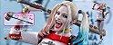 Harley Quinn Esquadrão Suicida Hot Toys Original Versão exclusiva com bonus - Imagem 1