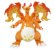 Charizard Kyodai max Pokemon Moncolle EX Takara Tomy Original - Imagem 3
