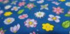 Azul Floral. Tecido 100% Algodão. NF0038 (50x140cm) - Imagem 1