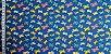 Borboletas Coloridas. Tecido 100% algodão. NT0053 (50x140cm) - Imagem 5