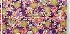 """Florais Japoneses com """"spots"""" douradinhos   (medida 50x55cm) - Imagem 4"""