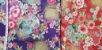 Flowers-06. Tecido Japonês 100% Algodão (50x55cm) - Imagem 5