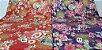 Flowers-06. Tecido Japonês 100% Algodão (50x55cm) - Imagem 1