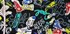 Forever Young. Tecido Algodão+Linho Japonês (50x55cm) - Imagem 6