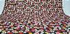 Flowers-07. Tecido Japonês 100% Algodão (50x55cm) - Imagem 1