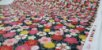 Flowers-07. Tecido Japonês 100% Algodão (50x55cm) - Imagem 4