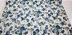 Blue Flower. Tecido em Algodão+Linho (50x110cm) - Imagem 1