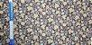 Brown Flower. Tecido em Algodão+Linho (50x110cm) - Imagem 7