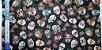 Caveirinha Garden. Tecido Digital.  50x70cm - Imagem 2