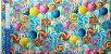 Pirulitos Coloridos. Tecido Digital.  50x70cm - Imagem 3