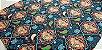 Mandala Azul. Tecido Digital. TD013. (50x70cm) - Imagem 4