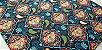 Mandala Azul. Tecido Digital. TD013. (50x70cm) - Imagem 2