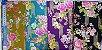 Floral Texturizado. Tecido Japonês Douradinho  50 x55cm - Imagem 5