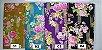 Floral Texturizado. Tecido Japonês Douradinho  50 x55cm - Imagem 1