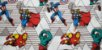 Marvel. Hulk, Homem Ferro, Capitão América & Thor. 50cm x 70cm - Imagem 3