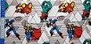 Marvel. Hulk, Homem Ferro, Capitão América & Thor. 50cm x 70cm - Imagem 2