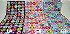 Colour Balls. 100% Algodão Japonês.  TI030-50cm x 55cm - Imagem 3