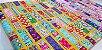 Colorful Squares. Tecido Japonês. TI034- 50cm x 55cm - Imagem 2