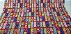 Colorful Squares. Tecido Japonês. TI034- 50cm x 55cm - Imagem 3