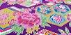HexFlowers. Tec. Douradinho. TI045 (50x55cm) - Imagem 7