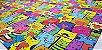 Gatinhos Coloridos.Tecido Digital. T030 - 50cm x 70cm - Imagem 3