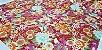 Flowers. Tec.Douradinho Japonês. TI050  (50cm x 55cm) - Imagem 3