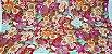 Flowers. Tec.Douradinho Japonês. TI050  (50cm x 55cm) - Imagem 2