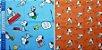 Snoopy & Cia. Tricoline 100% Algodão. TN087-50X70cm - Imagem 4