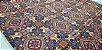 Mandala Laranja. Tecido Digital. 50x140cm - Imagem 1