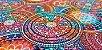 Mandala Red. Tecido Digital. 50x140cm - Imagem 4