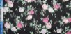 Flower in Silver Lines. Algodão Japonês - 50x55cm - Imagem 4