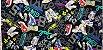 Tennis Shoes. Linho+Algodão Japonês -50x55cm - Imagem 2