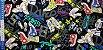 Tennis Shoes. Linho+Algodão Japonês -50x55cm - Imagem 5