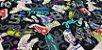Tennis Shoes. Linho+Algodão Japonês -50x55cm - Imagem 3