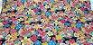 Sea Flowers. Tec.Douradinho Japonês. (50x55cm) - Imagem 2