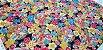 Sea Flowers. Tec.Douradinho Japonês. (50x55cm) - Imagem 3