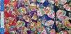 Flower in Fan. Tec.Douradinho Japonês. (50x55cm) - Imagem 5