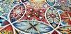 Mandala. Tec.Sarja-NV0026-50x140cm - Imagem 1