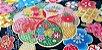 Sea Flowers. Tec. Douradinho Jap. JD0001 (50x55cm) - Imagem 1